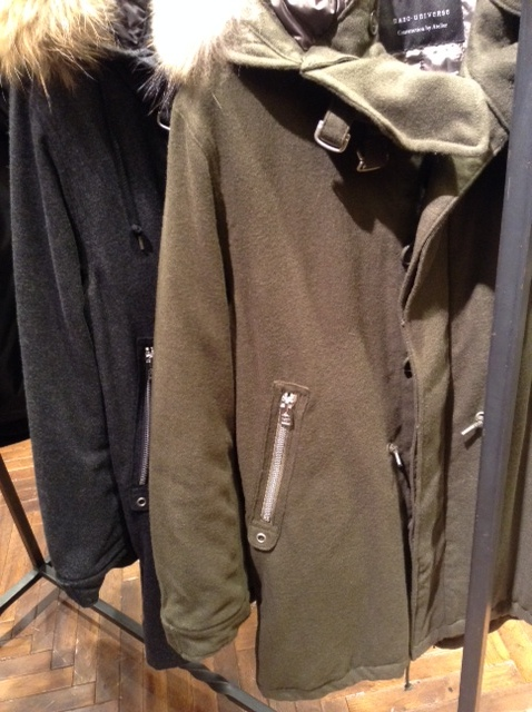 Wool m 51 mix parka